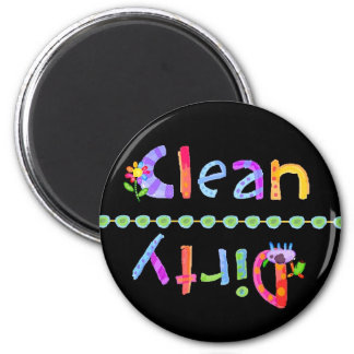 Glo Kids Clean Dirty Dishwasher Magnet