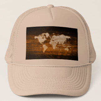 Global Access of Service and Technology Solutions Trucker Hat