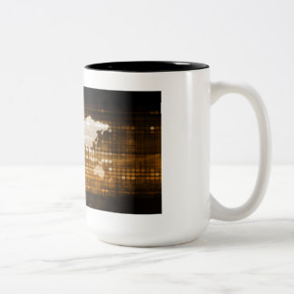 Global Access of Service and Technology Solutions Two-Tone Coffee Mug