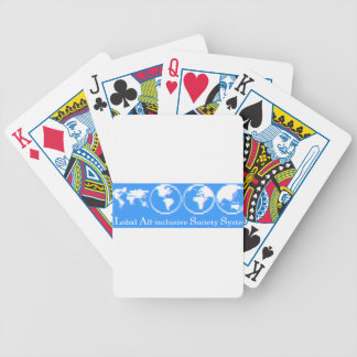 GLobal All-inclusive Society System (GLASS) Bicycle Playing Cards