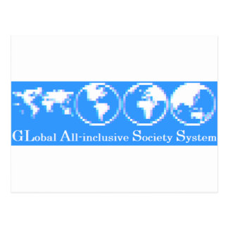 GLobal All-inclusive Society System (GLASS) Postcard