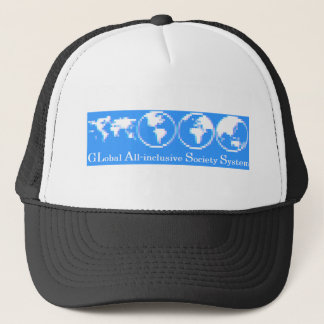 GLobal All-inclusive Society System (GLASS) Trucker Hat