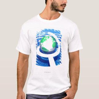 Global communication, conceptual computer 2 T-Shirt