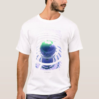 Global communication, conceptual computer T-Shirt