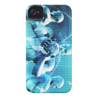 Global Conference Concept as a Abstract Background iPhone 4 Case-Mate Cases