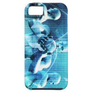 Global Conference Concept as a Abstract Background iPhone 5 Case