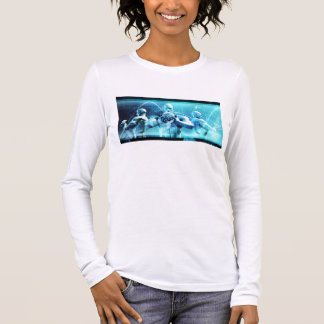 Global Conference Concept as a Abstract Background Long Sleeve T-Shirt
