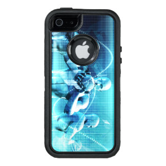 Global Conference Concept as a Abstract Background OtterBox iPhone 5/5s/SE Case