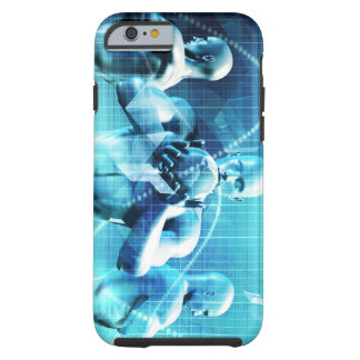 Global Conference Concept as a Abstract Background Tough iPhone 6 Case