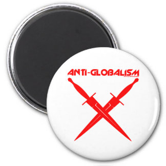 GLOBAL CONSPIRACY 2 INCH ROUND MAGNET