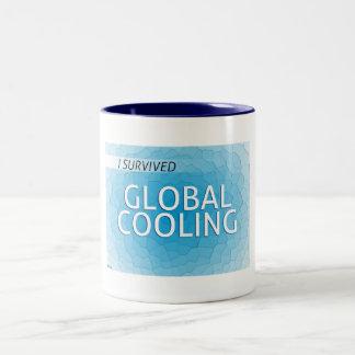 Global Cooling Two-Tone Coffee Mug