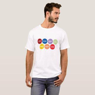 Global currency symbols T-shirt