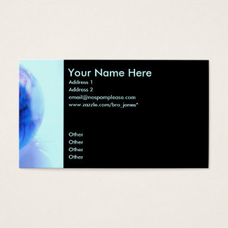 Global Economy Business Card