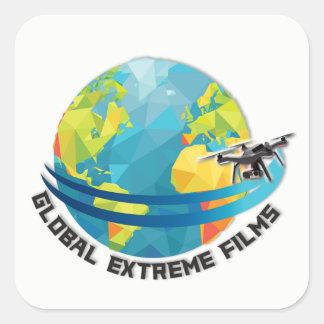 Global Extreme Films Sticker (White)