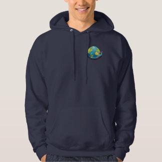 Global Extreme Films Sweatshirt Hoodie (Navy Blue)
