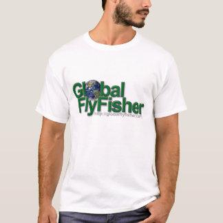 Global FlyFisher logo T-shirt