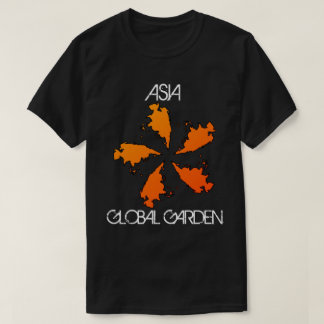 Global Garden Map Designs: Asia T-Shirt