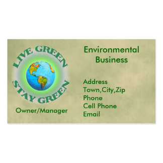 Environmental business cards 1000 business card templates for Go business cards