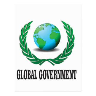 global government postcard