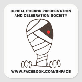 Global Horror Preservation logo sticker GHPACS
