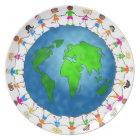 Global Kids Plate