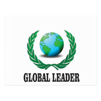 global leader postcard