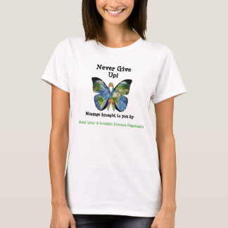 Global Lyme Butterfly Awareness Shirt