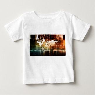 Global Management Technology Process as a Concept Baby T-Shirt