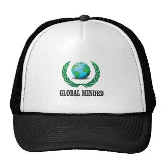 global minded trucker hat