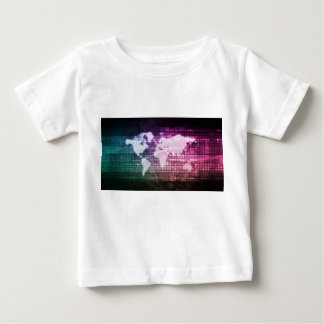 Global Network Connection and Integrated Baby T-Shirt