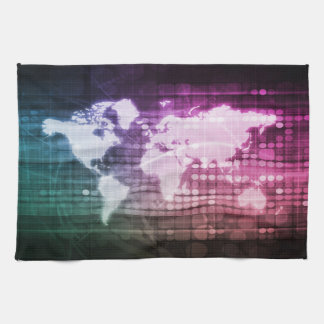 Global Network Connection and Integrated Kitchen Towel