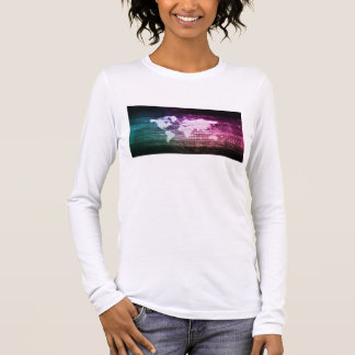 Global Network Connection and Integrated Long Sleeve T-Shirt
