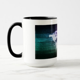 Global Network Connection and Integrated Mug