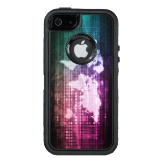 Global Network Connection and Integrated System OtterBox Defender iPhone Case