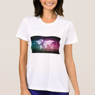 Global Network Connection and Integrated T-Shirt