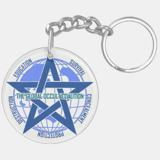 Global Occult Coalition keyholder [SCP Foundation] Double-Sided Round Acrylic Keychain