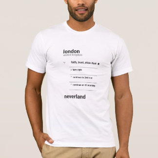 Global Pan System Directions - black print T-Shirt