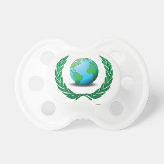 global Ruler green Baby Pacifiers