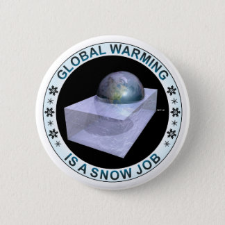Global Snow Job 2 Inch Round Button