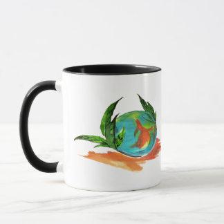 Global sphere mug