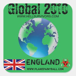 Global Sticker England 2010