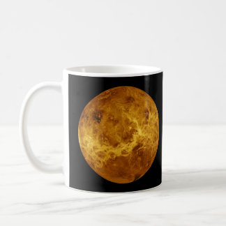 Global Surface of the Planet Venus Coffee Mug