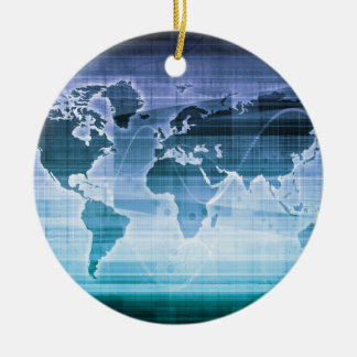 Global Technology Solutions Ceramic Ornament