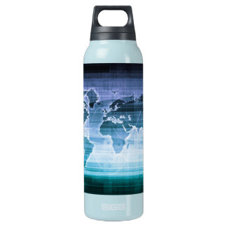 Global Technology Solutions Insulated Water Bottle