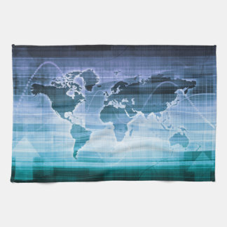 Global Technology Solutions on the Internet Kitchen Towel