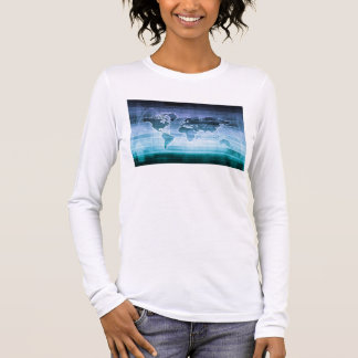 Global Technology Solutions on the Internet Long Sleeve T-Shirt
