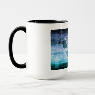 Global Technology Solutions on the Internet Mug