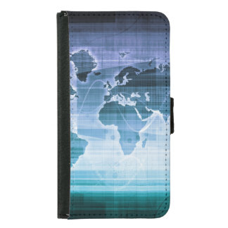 Global Technology Solutions on the Internet Samsung Galaxy S5 Wallet Case
