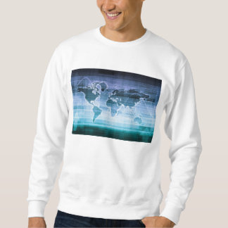Global Technology Solutions on the Internet Sweatshirt