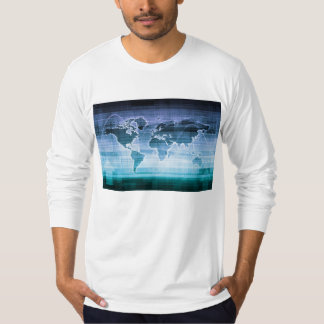 Global Technology Solutions on the Internet T-Shirt